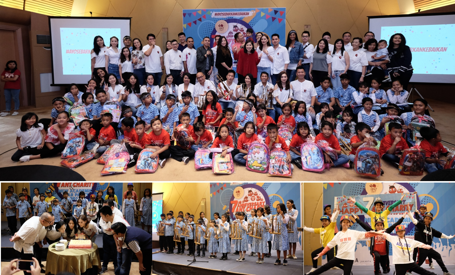 7 TH ANNIVERSARY ANT CHARITY AND NEW ACADEMIC YEAR PARTY