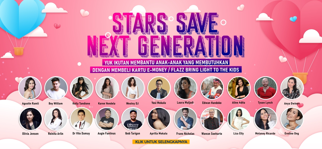 Stars Save Next Generation
